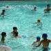 Un tuffo in piscina...